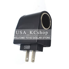 110V - 240V AC  WALL Plug to 12V Car Charger DC Power Socke Converter Adapter us