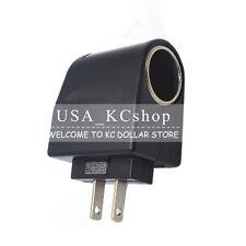 110V - 240V AC  WALL Plug to 12V Car Charger DC Power Socke Converter Adapter us