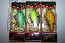 "Fishing lures lot of 3, XCALIBUR  ""XCS100"" CRANKBAITS  Bass, Cod, Trout, Perch."