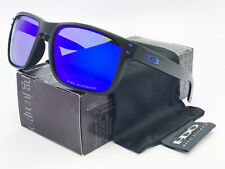 Sunglasses Polarized Holbrook¹Oakley¹Matte Black/Blue Mercury Iridium *