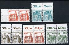 Berlín castillos & cerraduras 533, 535, 537, 539, 540 ** - waagrechte parejas