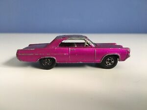 Rare Lesney Matchbox No 22 Pontiac GP Sports Coupe Superfast Purple