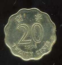 HONG KONG 20 cents 1995 ( bis )