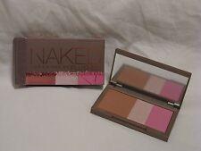 Urban Decay Naked Flushed 'Native' Cool Pink Blush Highlight Bronzer Trio NIB