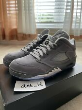 Air Jordan 5 Retro Low Golf Grey CU4523-005 Men's Size 8.5