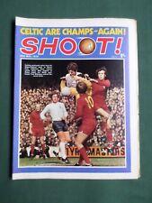 SHOOT - MAGAZINE- 30 MAY 1970 - BRIAN LABONE - DICK KRZYWICKI - HUGH CURRAN