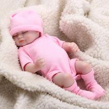 11'' Lifelike Handmade Girl Dolls Newborn Silicone Vinyl Reborn Baby Toy Gift