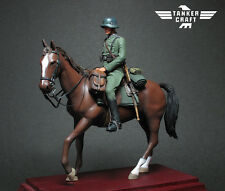 Tanker Craft 1/24 WWII German Cavalry Resin Figure