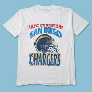 Los Angeles Chargers AFC Champi0ns T Shirt Funny White Vintage Gift Men Women
