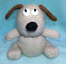 KNITTING PATTERN - Gromit inspired chocolate orange cover / 15 cms Wallace toy