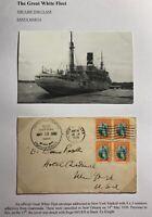 1936 Guatemala SS Santa Maria Paqueboat United Fruit Co Cover To New York USA