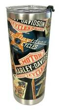 Harley-Davidson Destinations Textured Stainless Steel Travel Mug, 24oz HDX-98622