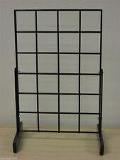 "Countertop Grid Grid Panel Display Store Merchandise 12""X18"" Black New"