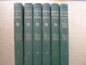 6 Vol Set Nature Lovers Library  (Hardcovers, 1904)