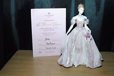 More details for coalport the fairytale begins figurine limited edition with coa