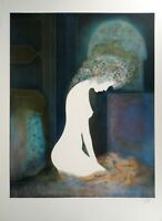 Guy RIBES : Nu féminin - Lithographie Originale Signée