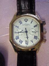 Herren XL Armbanduhr Automatik-Sammleruhr-Limited Edition-Y.C.-IP Rosegold-Blau
