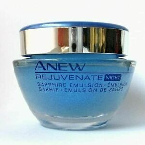 Avon Anew Rejuvenate  Sapphire Emulsion Night