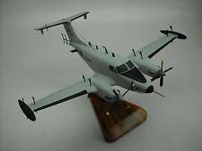 RC-12 Guardrail King Air B200 RC12 Airplane Desktop Wood Model Small New