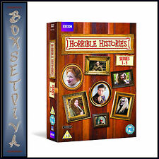 HORRIBLE HISTORIES - COMPLETE SERIES 1 2 3 4 & 5  **BRAND NEW DVD **