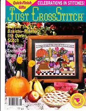 Just Cross Stitch Magazine May/June 93 Issue - Cartouche Bookmarks and Towels