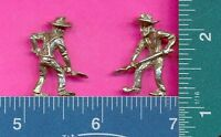 100 wholesale lead free pewter miner figurines m11066