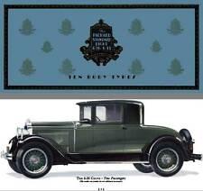 Packard 1929 - The Packard Standard Eight 6-26 & 6-33 - Ten Body Types