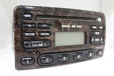 Original Ford 6000CD RDS EON Wurzelholz 6000 CD Radio 97AP-18C815-HA Autoradio