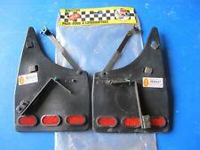 Jeu de bavettes arrière avec catadioptres R-B pour Renault R11 88->