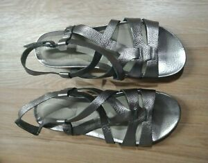 WOMEN'S SHOES by PORTLAND 'Feels Good' - Ladies GREY SANDALS adjustable straps