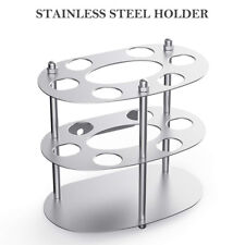 Stainless Steel Toothbrush Holder Toothpaste Razor Stand Rack Bathroom Organize