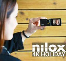 FLIP Action cam NILOX 4K Holiday NX4KHLD001 Sensore SONY SELFIE CAMERA Accessori