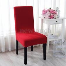 Housses de canapé, fauteuil, et salon rouge pour la maison Chaise