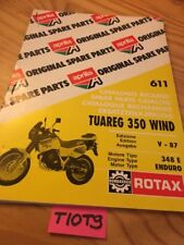 Aprilia parts list Tuareg 350 Wind enduro 87 moteur Rotax 348 E pièce détachée
