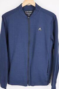 Le Coq Sportif Mens Essentials Full Zip Tech Jacket sz Large