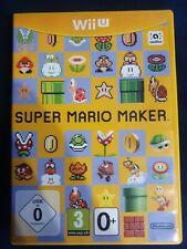 Super Mario Maker Wii U Game.