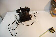 C132 Vintage Retro Phone en bakelite noire