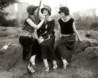 1920s Vintage Photo * ISADORABLES * Duncan Sisters * 20's Fashion Flappers Girls