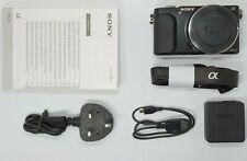 Immaculate/Boxed Sony Alpha NEX-3N 16.1MP Digital Camera - Black (Body Only)