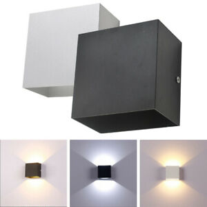 1/4/10x 6W LED Wall Light Up Down Lamp Sconce Spot Lighting Hall Bedside Fixture