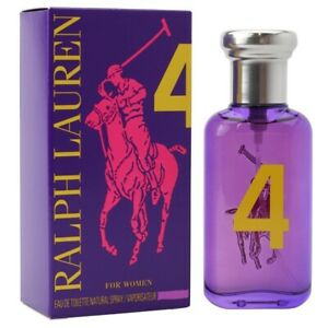 THE BIG PONY COLLECTION 4 FOR WOMEN by RALPH LAUREN 50ML EDT NEW SEALED BOX.