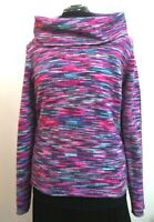 The Limited Women's Sweater/Pullover Cowl Neck Long Sleeve Multicolor Size L.