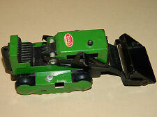 vintage TONKA tracteur tractopelle pelleteuse JOUET en tole ANCIEN tin toy CAR