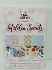 My Craft Studio Elite CD Hidden Secrets Paper Design Images Backgrounds