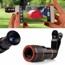 12X Zoom Telescope Camera Clip-on Lens For Smartphone Mobile iPhone Samsung Note