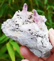 STUNNING VERA CRUZ AMETHYST CLUSTER POINT, FROM MEXICO, HEALING CRYSTAL
