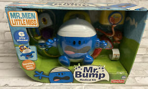 FISHER PRICE MR BUMP MEDICAL Kit TOY CASE 6 Pieces Fisher Price 2009 P9083