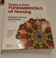KOZIER & ERB'S Fundamentals of Nursing:Concepts,Process,& Practice 8th Ed. w/CD
