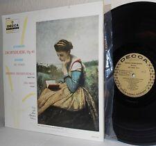 Decca Gold Label LP DL 9930 SCHUMANN Dichterliebe Op 48 BRAHMS Six Songs VG+/M-