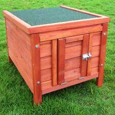 Pet House Hutch Robust Ideal for Garden Retreat Sleep Weatherproof Wood Garden